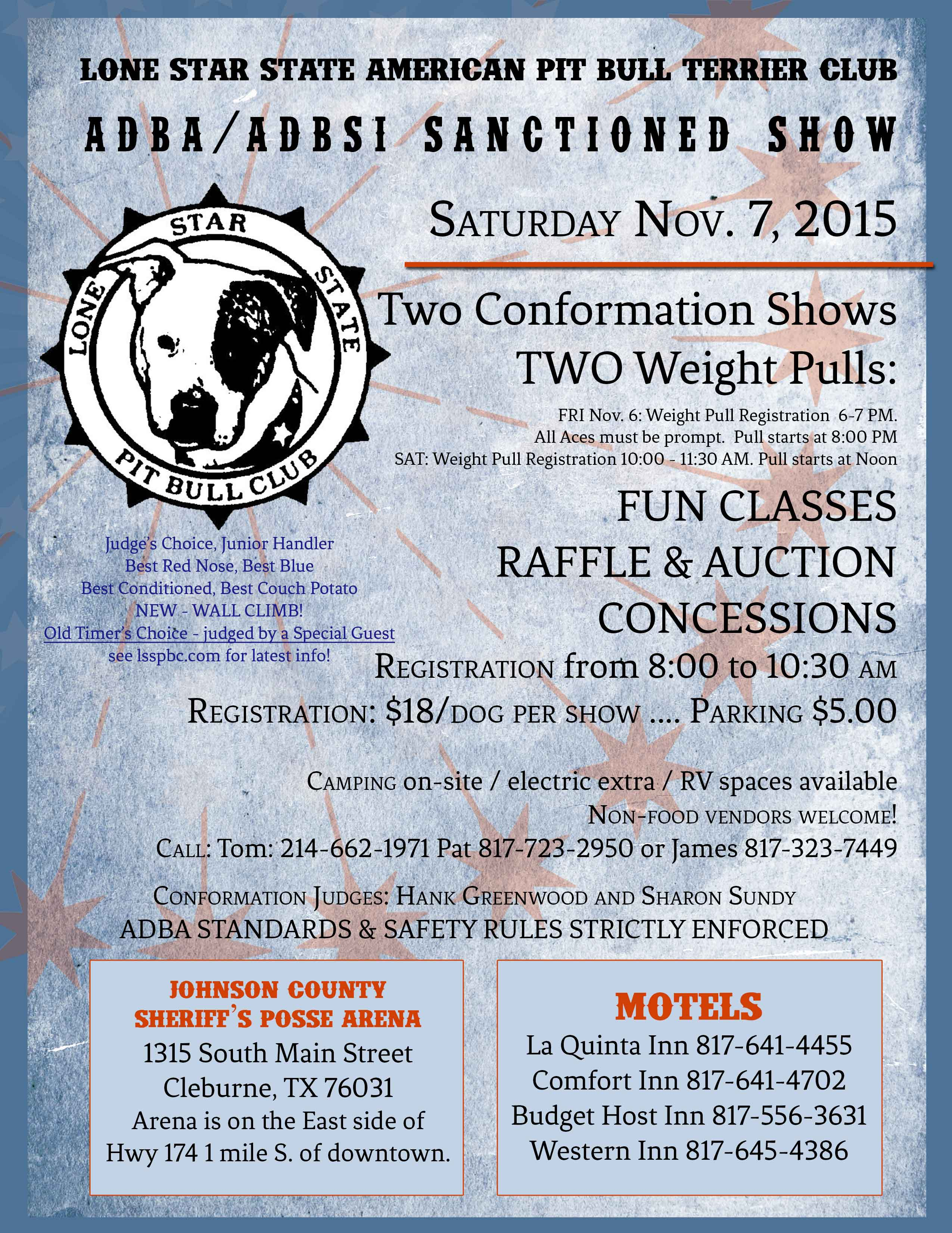 SanctionedShowFlyerNov2015